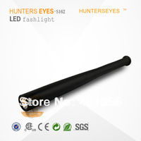 Hunterseyes CREE Q5 LED flashlight tactical flashlight 18650 Torch Long Light Baseball Bat Shape self defense 3 Mode S162