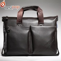 2013 Best Pop Man PU Leather Messenger Bags Mens Fashion Offical Handbag ,Free Shipping