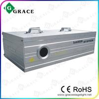 free shipping 1000mw rgb animation laser