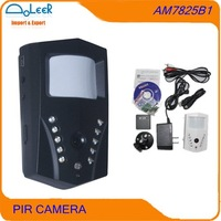 Auto video recording PIR camera(Black)