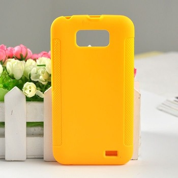 Christmas Gift Yellow Protective Soft TPU Gel Back Case For Gionee GN700W or Fly IQ441 Radiance Cell Phone Cover Free Shipping