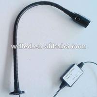 BEST SALE AC/DC12V/24V 1W LED TOOL LIGHT/led machine tool light 12v/working table lamp/high watt led table lamp