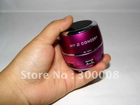 Mini speaker  portable speaker,support TF Card U-Disk wholesale 50pcs/lot