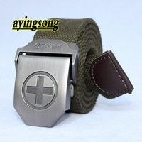 Canvas 2012 NEW Tactical sling ! carved military webbing belt  mens stock ,free shipping.
