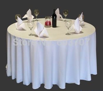"120"" dia visa round table cloth"