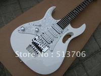 White JEM 7V Left Hand Electric Guitar OEM Musical instruments High Brand Wholesle