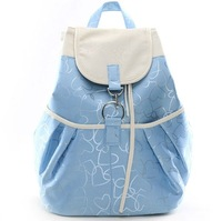 2013 Hot sale Canvas casual backpack female school bag preppy style fashion lovers backpack Free Shipping BP0006