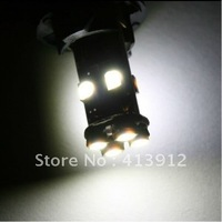Free EMS/DHL shipping 400pcs T10 8 SMD 3528 Canbus Car Interior Lamp 194 168 Auto Wedge LED Bulbs NO OBC ERROR Indicator Light
