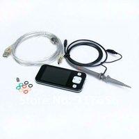 Free shipping, Portable V1.5 ARM Pocket Size 2.8'' Digital Oscilloscope 2Msps NEW DSO201