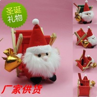 Santa Claus toy of wool cloth doll toys for Christmas gifts creative cartoon sundry frame wholesale sales promotion