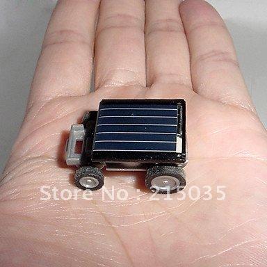 Mini Solar Car Kit World's Smallest Solar Powered Car(5pcs)(China (Mainland))