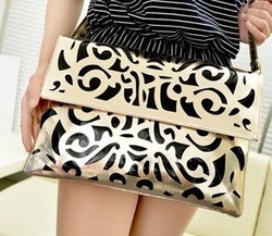 2012 Hot selling simple ladies handbag pu popular women shoulder messenger bag free shipping Factory Price and Dropship Q50(China (Mainland))