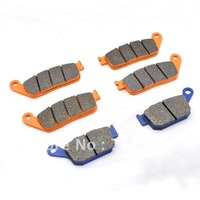 For Honda CB400 92-95 Front Rear Brake Pads 3 pairs