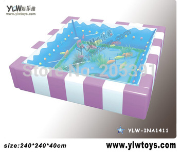 glass fiber reinforced plastics water bed for kids,amusement indoor playground equipment,Children playground toy