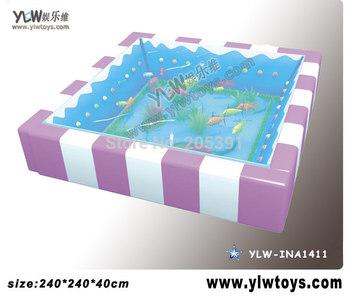 glass fiber reinforced plastics water bed for kids,amusement indoor playground equipment,Children playground toy