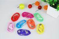 10pcs/Lot colors 2M Meters USB Data Sync Charger Cable For Apple iPhone 4 4S 3GS iPad iPod Touch + Free shipping