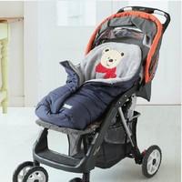 Baby Sleeping Bag Infant Blanket Winter,Newborn Stroller Bedding with safety belt ,Coral Fleece Outdoor waterproof Baby Blankets