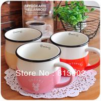 Free shipping derlook zakka microwave ceramic coffee cup mug milk cup