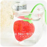 Cute home  tea filter  strawberry pears Tea balls  edibility of silica gel
