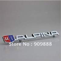 Car 3D Metal Grill Emblem Logo Badge Front Gille For  ALPINA sG9