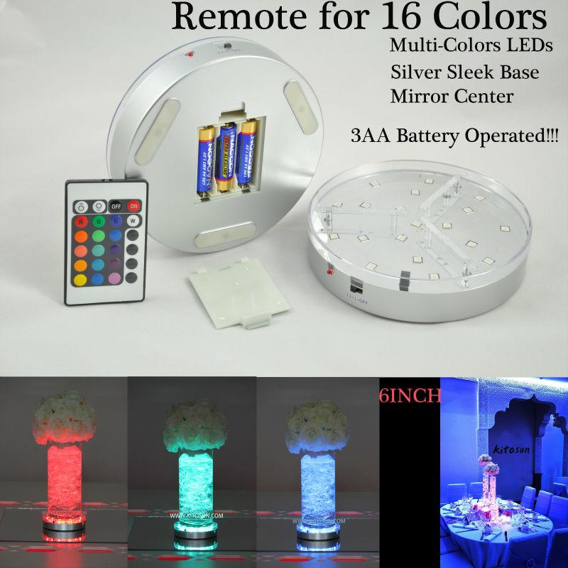 decoracao festa glow:polegada-rodada-Uplighter-Led-Light-Base-de-centrais-decoração.jpg