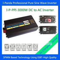 3000W power inverter ,invertor pure sine wave 3000w ,car inverter 12v Peak 6000W  DC to AC inverter 12vdc 24vdc 48vdc