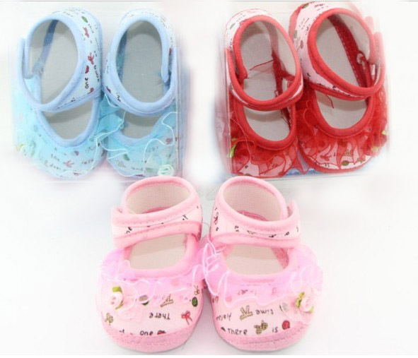 Promotion!baby popular rabbit shoes 0-1year baby toddle shoes Free shipping(China (Mainland))