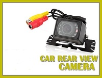 New waterproof auto infrared night vision rear view color reverse camera 135 degrees