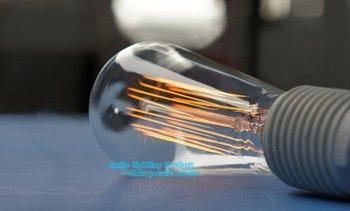 Free Shipping Type D Classical Edison Retro Firework Tungsten Filament Wire nostalgic Buld ,Incandescent Bulb
