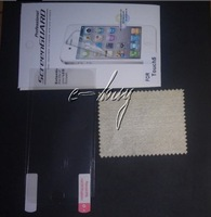 LCD Clear  Screen Protector For ipod touch 5 5th 300pcs/lot  with  retail package free shipping By DHL Very Fast