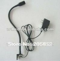 led machine light with flexible pipe/220v/110v US EU AU plug AC85-265V