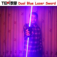 Dual Direction 450nm 445nm Blue Laser Sword  For Laser Man Show ,Big beam Laser Pointer