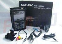 best price New 3.5Inch TFT LED Satlink WS 6908 DVB-S FTA digital satellite signal finder meter , WS6908