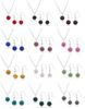 New! Disco Shamballa Clay Beads Necklace Earring Jewelry Set, 12Sets Mix Color
