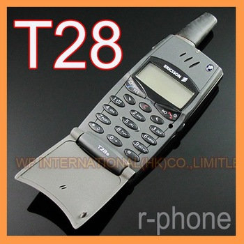 Refurbished T28 Original  Ericsson T28 T28s Mobile cell Phone 2G GSM 900/1800 Unlocked Black & Can't use in USA