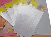 300pairs Silk Eye pads lint free eye patch under eye pad For Eyelash Extension