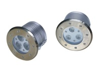 LED under ground Light,type B,D120xH92mm,stainless steel cover and aluminum housing,12V DC,9W,IP68,LUL-B-3X3W