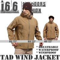 Free shipping Outdoor sharkskin softshell windbreaker Waterproof breathable fleece Hoodie jacket for sport(OG-12023-2) Brown