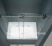 Elegant 304 Stainless SLIDING GLASS SHOWER DOOR HARDWARE