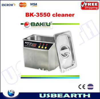 Free shipping!! 220V Ultrasonic Cleaner BK-3550 (hot sell) ,Baku 3550 super cleaner