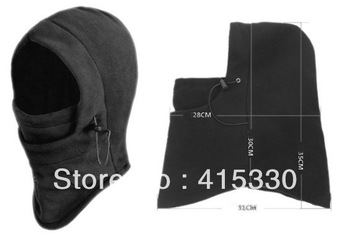 2014 Thermal FLEECE 6 in 1 BALACLAVA HOOD POLICE SWAT SKI MASK
