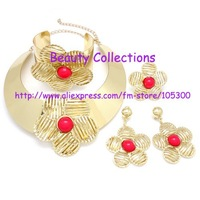 Free shipping! Fahion Jewelry set,necklace/baracelet,earing/ring,fashion design,for retail and wholesale JE568 GR