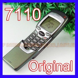 100% Original Nokia 7110 Mobile Cell Phone Classic 2G GSM 900/1800 Unlocked Silder Cellphone 7110 &amp; One year warranty(China (Mainland))