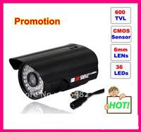 Free shipping 600 TVL OUTDOOR 36LEDs IR CCTV CAMERA