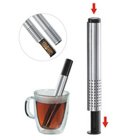 Stainless Steel Tea Sticks-Strainer -Tea filter -Tea Maker-Long Tea Infuser, easy to carry, beauty