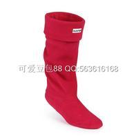Fashion women men socks rib rain boots socks winter rain shoes matching socks items only socks flock 11 color size 35-44