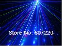 630mw DJ Laser Light  moving head twinkling RGB colors Micro-step Motor ,DMX 9CH