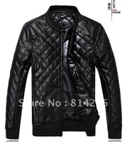 Free     shipping  Cultivate one's morality increase code/men's leather coat