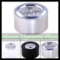 3pcs/lot 85-265V 3W D80*40mm Surface Mounted modern LED mini downlight wall spotlights ceiling lamp Cabinet light Free Shipping