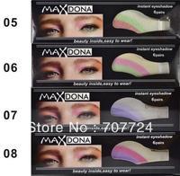 Temporary Tattoos Eyeliner, Instant Eye Shadow Sticker Innovative Eyeshadow magic eye patch 6boxes/lot =36pairs